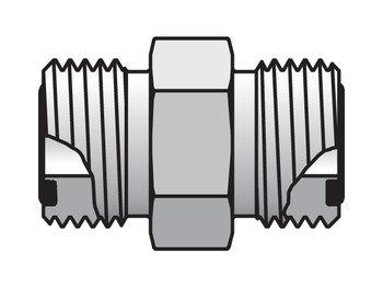 4 HLO-SS Seal-Lok ORFS Straight HLO