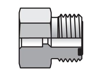 8-6 LHB3-S Seal-Lok ORFS Straight LOHB3
