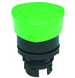 P22-L3M-R Clippard Automatic Push/Turn Mushroom 22mm
