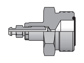 4 PNLOBA-S Seal-Lok Specialty ORFS / Port Bleed Adapter PNLOBA