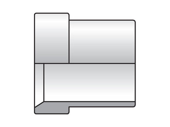 8 TX-S Triple-Lok 37° Nut, Sleeve, Locknut TX