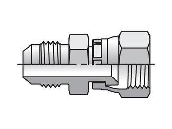 8 XHX6-S Triple-Lok 37° Straight XHX6