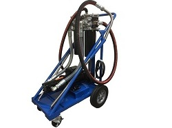 Portable Hydraulic Filter Cart
