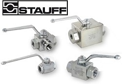 Stauff High-Pressure Ball Valves